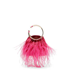 Valentino Garavani Bebop Loop Handle Clutch - Pink