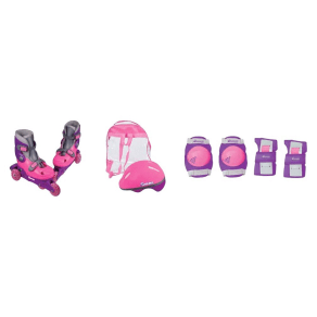 Chicago Girls Training Skate Combo - Pink - Size Y10-13