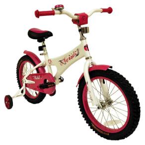 Kids Kettler Verso Starlet Bike - Cream/ Pink (16)