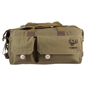Cincinnati Bengals Little Earth Large Prospect Weekender Bag, Olive Drab