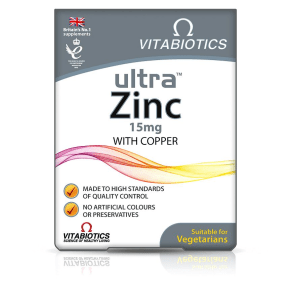 Vitabiotics Ultra Zinc - 60 Tablets