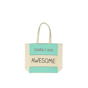 Foundation - Typo Difference Tote Bag - Awesome