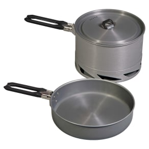 Camp Chef Mountain Series Stryker 4-Piece Cook Set, Silver