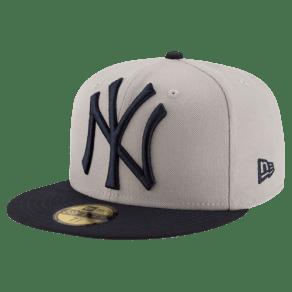 New York Yankees New Era Mlb 59fifty Perfect Storm Cap - Mens - Grey