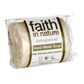 Faith in Nature Unfragranced Seaweed Soap 100g - 100g