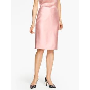 Talbots Women's Doupioni Pencil Skirt