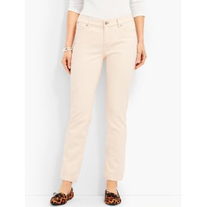 Talbots: The Flawless Five Pocket Ankle Natural Denim