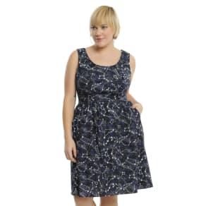 Celestial Glow-In-the-Dark Dress Plus Size