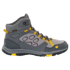 Jack Wolfskin Waterproof Hiking Shoes Men Activate Texapore Mid Men 13 Yellow