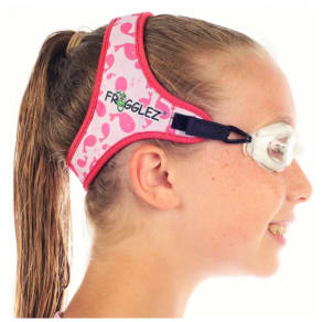 Frogglez Whale Pattern Goggles - Pink