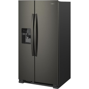 Whirlpool Wrs321sdhb 21 cu.ft Black Side-By-Side Refrigerator