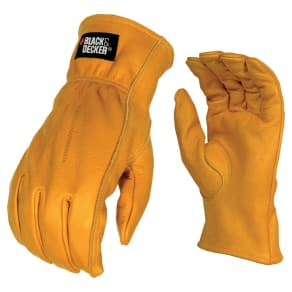 Black+decker Stanley Large Cowhide Leather Glove