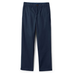 Lands' End Blue Boys' Iron Knee Cadet Trousers