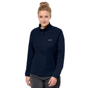 Jack Wolfskin Fleece Jacket Women Kiruna Women Xs Blue