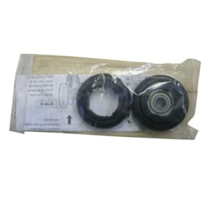 Minoura Replacement Rubber Rollers for Rda Trainers (Pair), Black