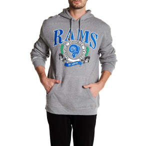 Nfl  Rams  Hooded  Pullover