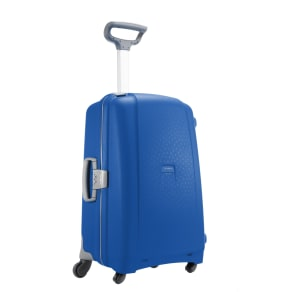 Samsonite Aeris Vivid Blue 4 Wheel Hard Medium Suitcase, Vivid Blue