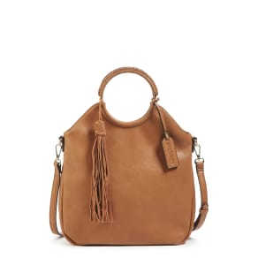 Sole Society Faux Leather Bracelet Bag -