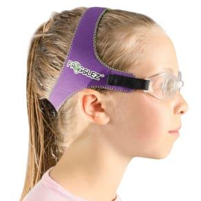 Adjustable Frogglez Swimming Goggles - Purple