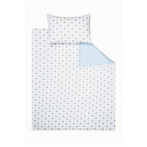 Rachel Riley My Little Prince Duvet Cover and Pillowcase Set, Single, Light Blue