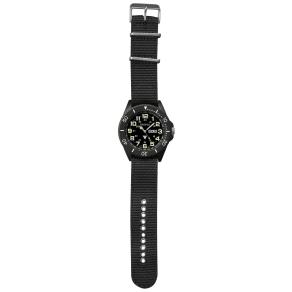 Dakota Watch Company Black Military Dial Ion Wrist Watch