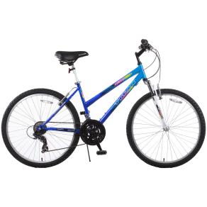 Titan Trail 21-Speed Suspension Women's Mountain Bike, Blue