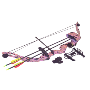 Sa Sports Majestic Recurve Compound Youth Bow Set 566, Pink