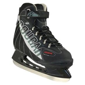 Men's Cougar Soft Boot Hockey Skates - Black/Gray 13, Variation Parent