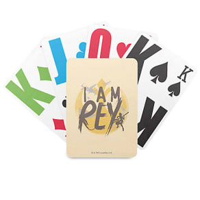 Star Wars ''I Am Rey'' Playing Cards - Customizable