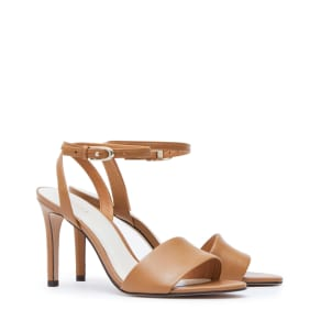 Reiss Lindsey - Open-Toe Sandals in Brown, Womens