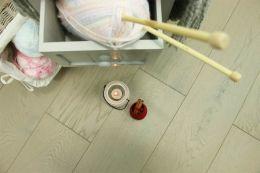 Prime Engineered Flooring Oak Uk Grey Brushed UV Oiled 14/3mm By 150mm By 400-1500mm
