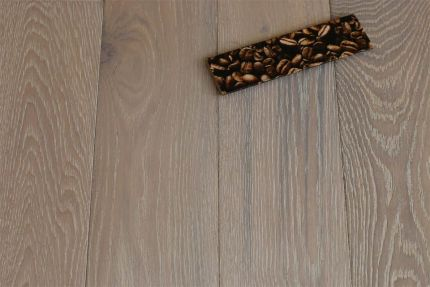 Natural Engineered Flooring Oak Sunny White Brushed Oiled 20/5mm By 180mm By 400-1500mm