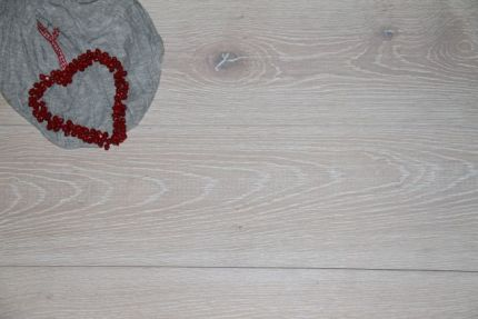 Prime Engineered Oak Flooring Brushed White Oiled 15/4mm By 180mm By 1800mm