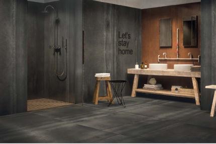 Porcelain Tiles Grandi Black 1200mm by 1200mm