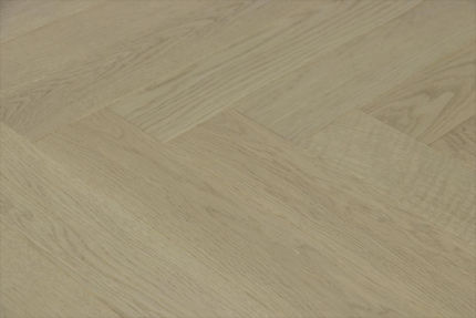Prime Engineered Flooring Oak Herringbone Silver Stone Brushed UV Matt Lacquered 14/3mm By 98mm By 588mm