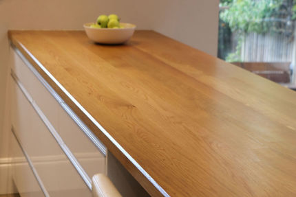 Full Stave Select Oak Worktop Elite 35mm By 1200mm By 3000mm
