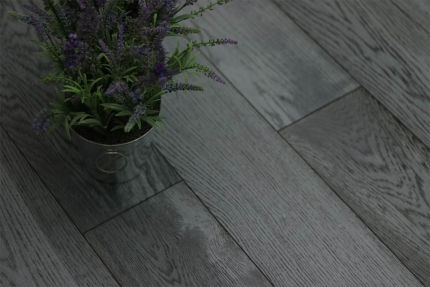 Natural Engineered Flooring Oak Cosmos Brushed UV Lacquered 14/3mm By 190mm By 400-1500mm