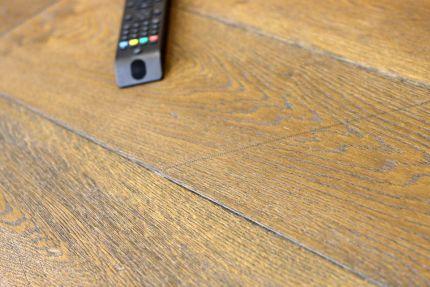 Natural Engineered Flooring Oak Reclaim Brown Brushed UV Oiled 20/5mm By 180mm By 1900mm
