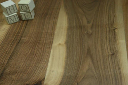 Natural Engineered Flooring Walnut UV Oiled 15/4mm By 200mm By 1500-2200mm