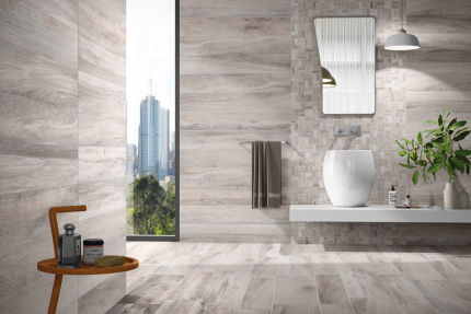 Porcelain Stoneware Madeira Grey 300mm By 1200mm