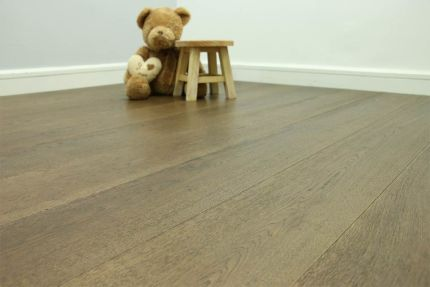 Select Engineered Flooring Oak Coffee Brushed UV Oiled 14/3mm By 190mm By 1900mm