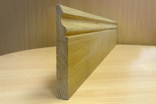 Ogee Skirting Board 145mm by 20mm by 3000mm