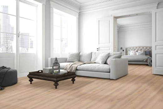 Luxury Click Vinyl Flooring Br White Oak 5mm By 169mm By 1210mm