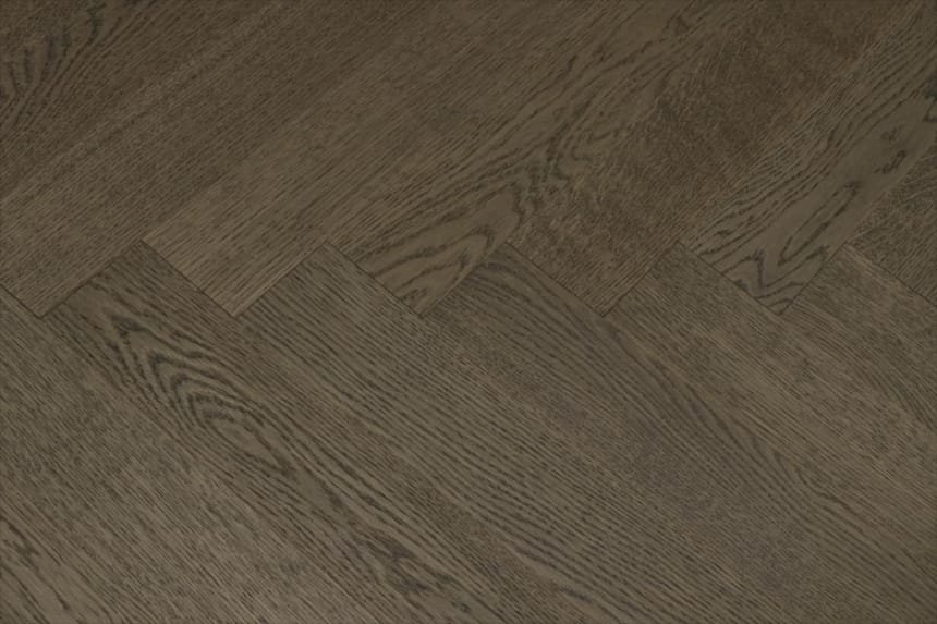 Prime Engineered Flooring Oak Herringbone Bologna Brushed UV Matt Lacquered 14/3mm By 98mm By 588mm