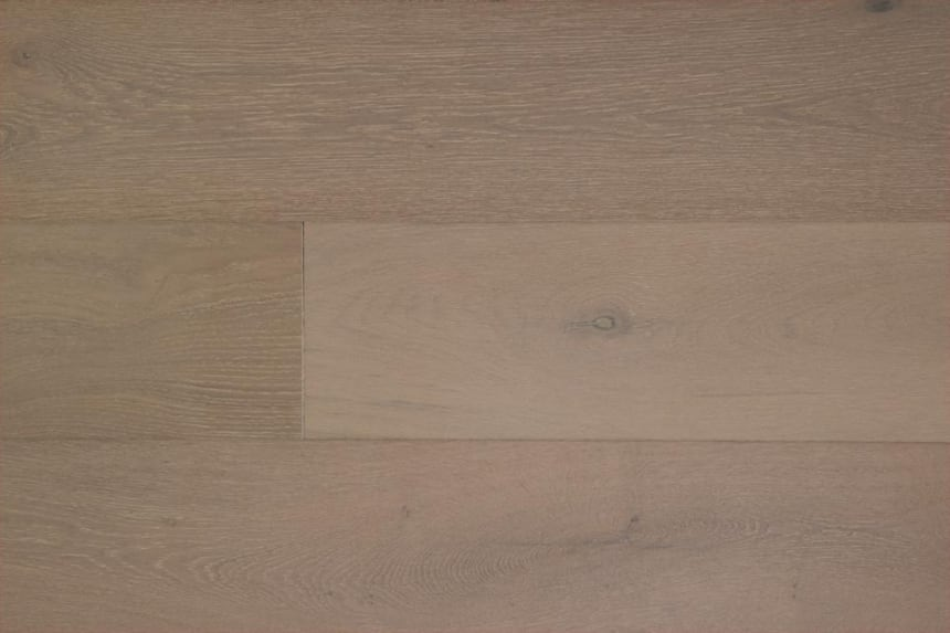 Natural Engineered Flooring Oak Click Alaska White Brushed UV Oiled 14/3mm By 190mm By 1900mm