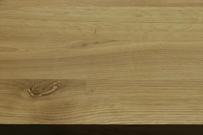 Full Stave Rustic Oak Worktop 25mm By 620mm By 2380mm