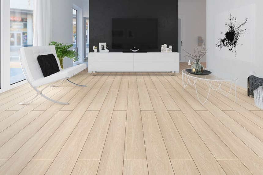 Mountain Light Oak Laminate Flooring 8mm By 193mm By 1380mm