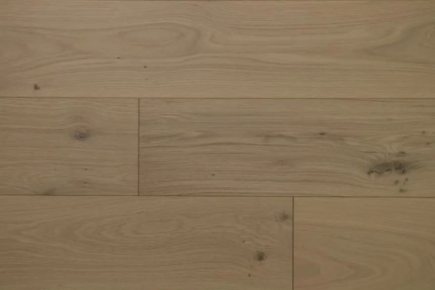 Natural Engineered Flooring Oak Click B2 Non Visible UV Oiled 14/3mm By 190mm By 1900mm