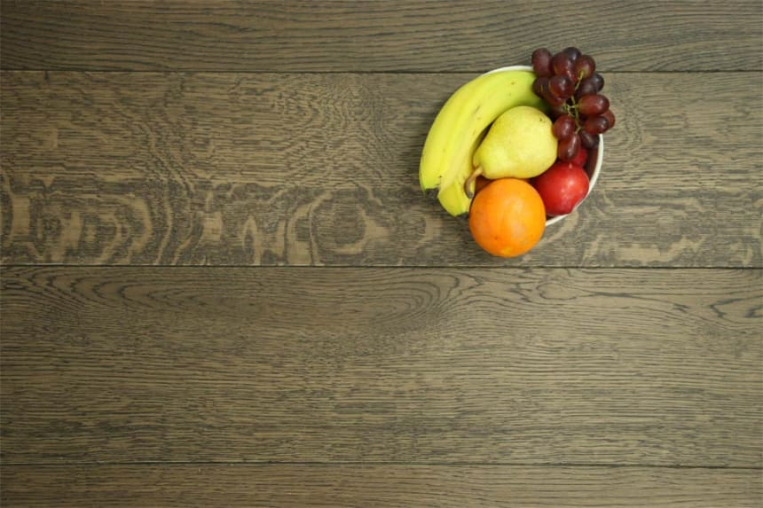 Natural Engineered Flooring Oak Bespoke Eco Coffee Chino UV Oiled 16/4mm By 180mm By 600-2400mm