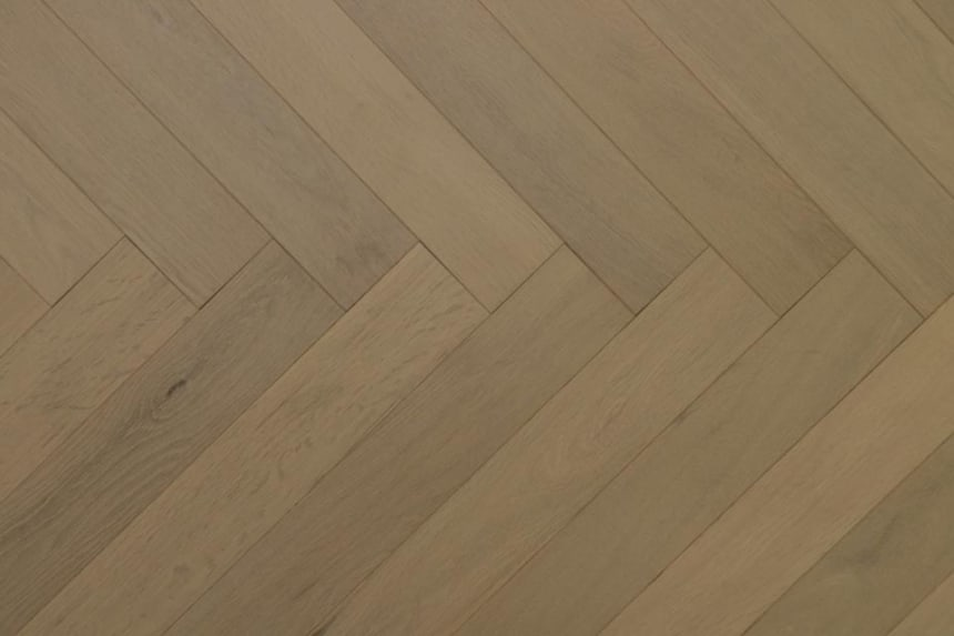 Natural Engineered Flooring Oak Herringbone Desert UV Oiled 15/4mm By 90mm By 600mm